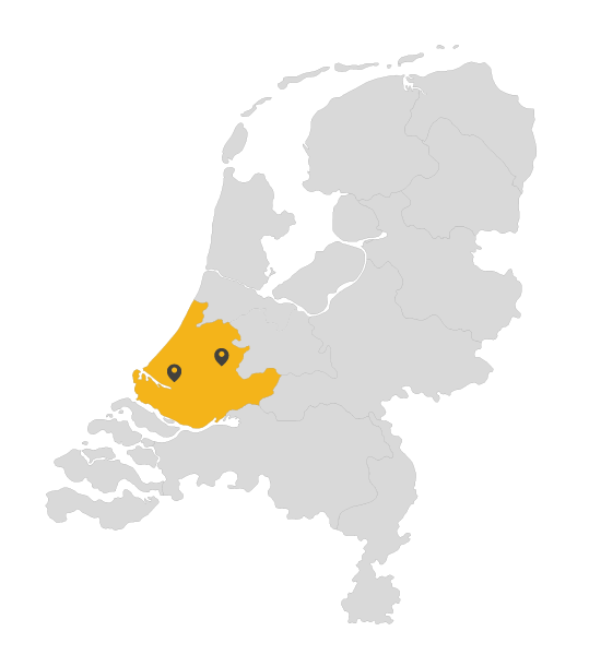Werkgebied Dakdekker Zuid Holland